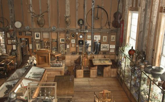 Joseph Allen Skinner Museum interior