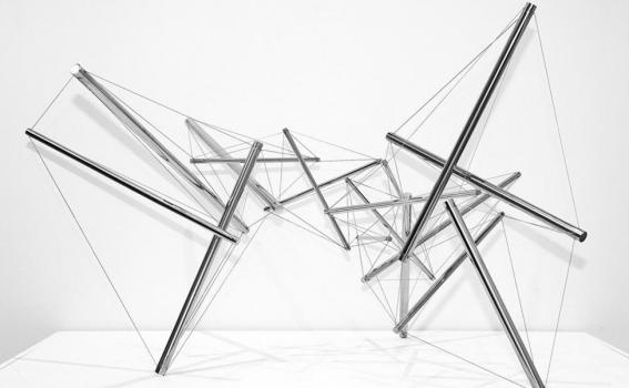 Kenneth Snelson (American, b. 1927), Wing I, 1992