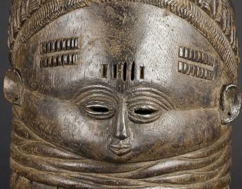 Maker Unknown (African; Mende), Sowo Wui dance mask, early 20th century