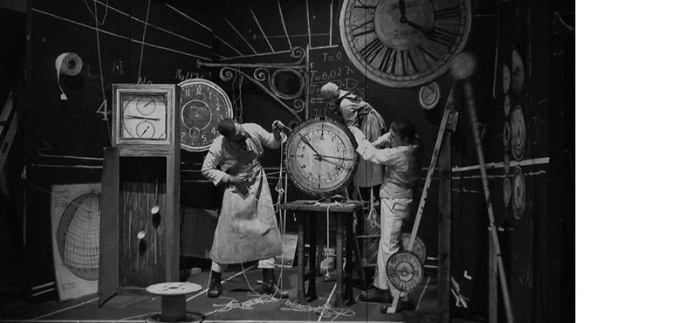 William Kentridge (South African, b. 1955), Machine Room, Still from The Refusal of Time. © William Kentridge; photo courtesy of Marian Goodman Gallery