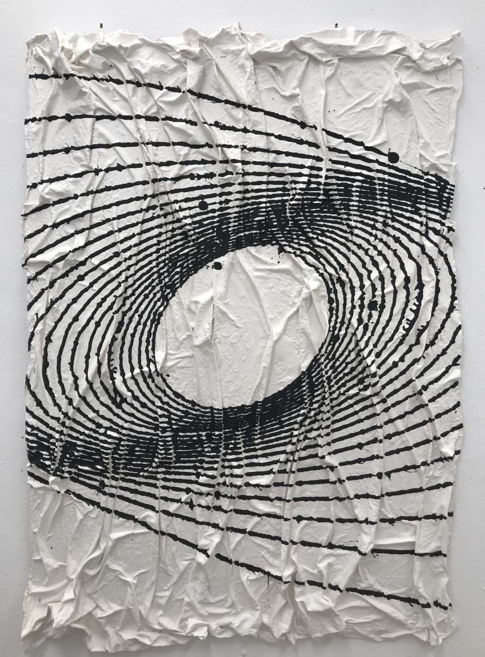 """Ricki Lovett '21, """"Spiraling I"""" (2021)"""