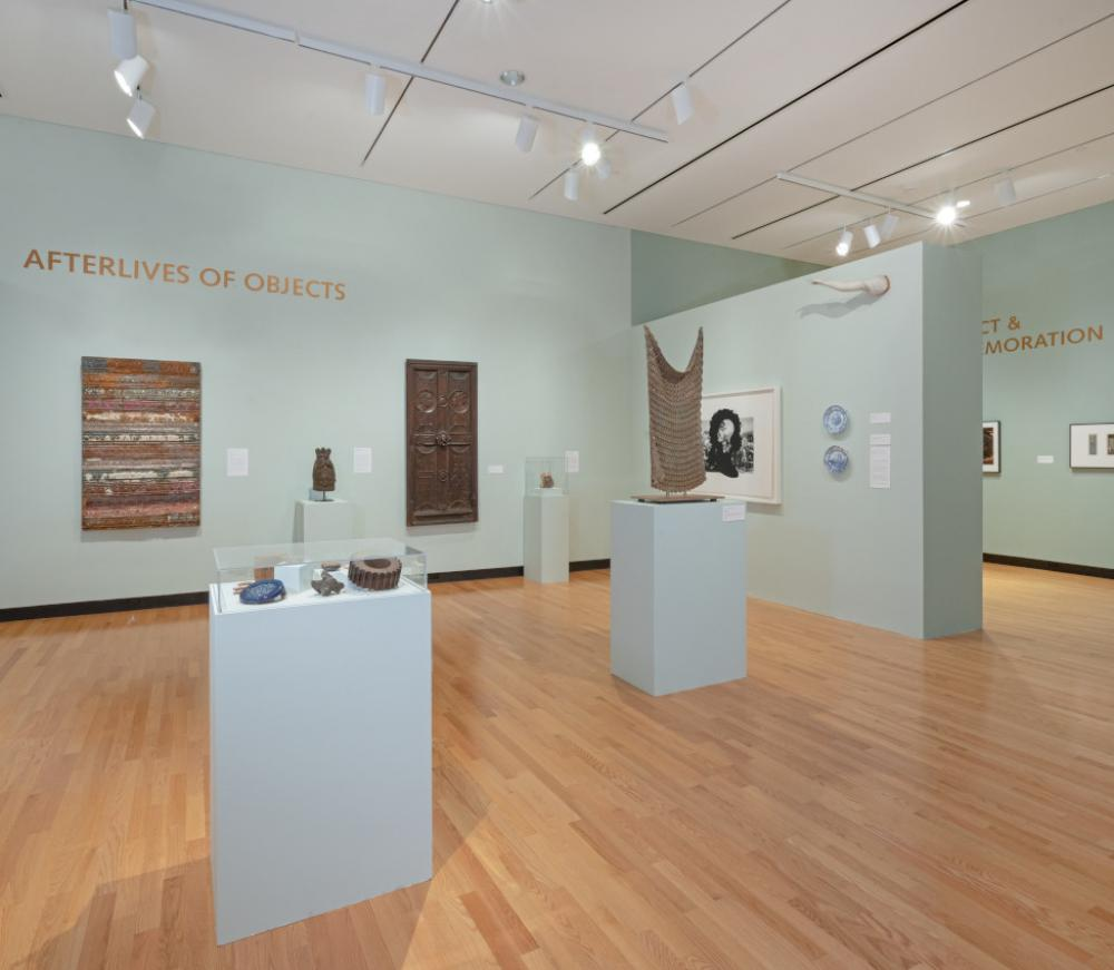 Installation view of Major Themes, Fall 2018