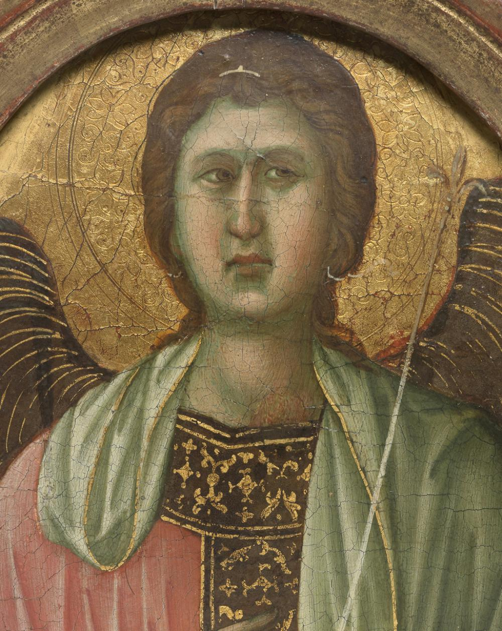 Duccio, Angel (Pinnacle from the Maestà altarpiece), ca. 1308-1311