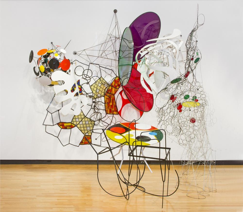 Judy Pfaff (American, b. 1946), Barcelona, 1990