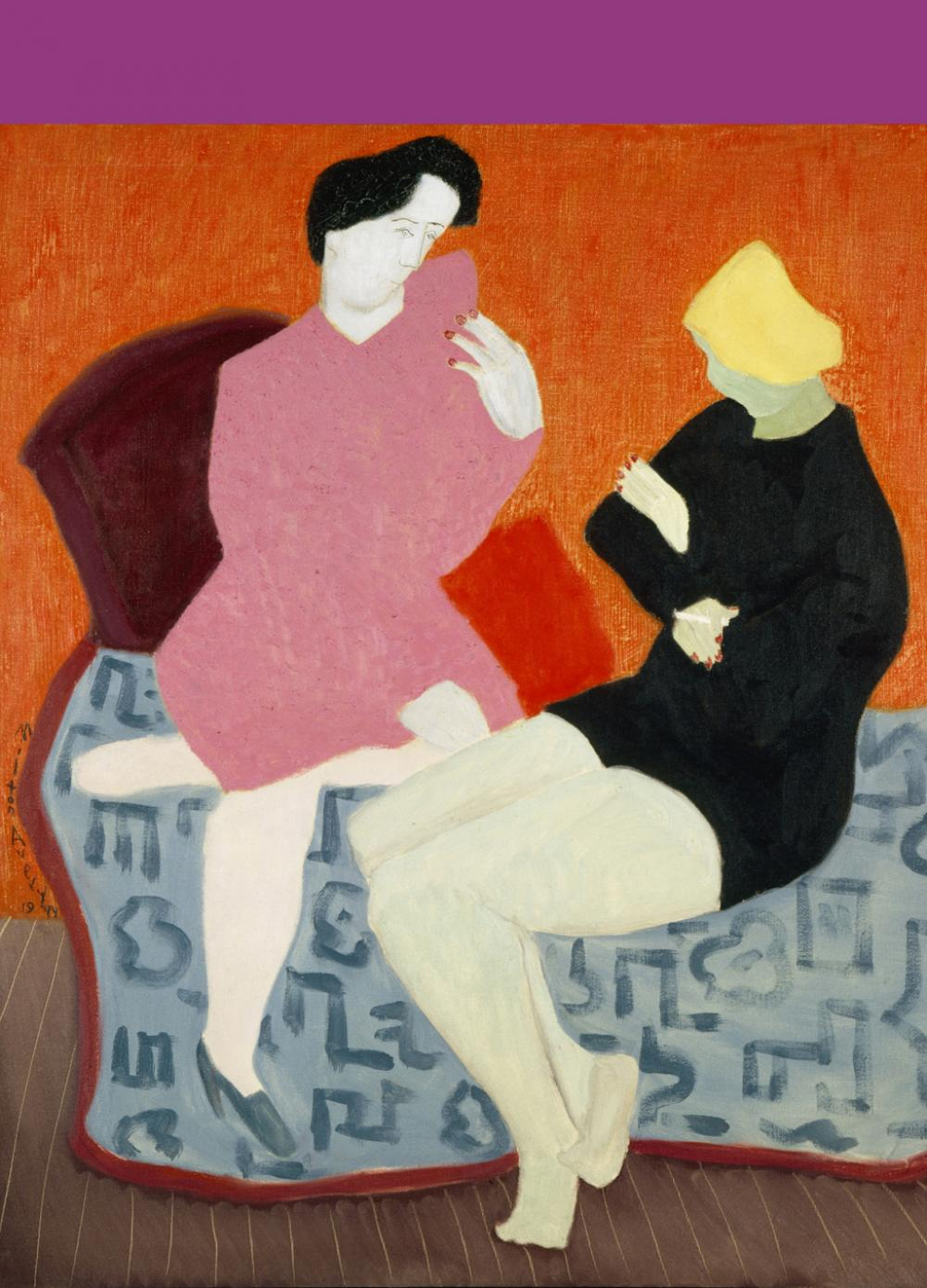 Milton Avery (American, 1893-1965), Discussion, 1944