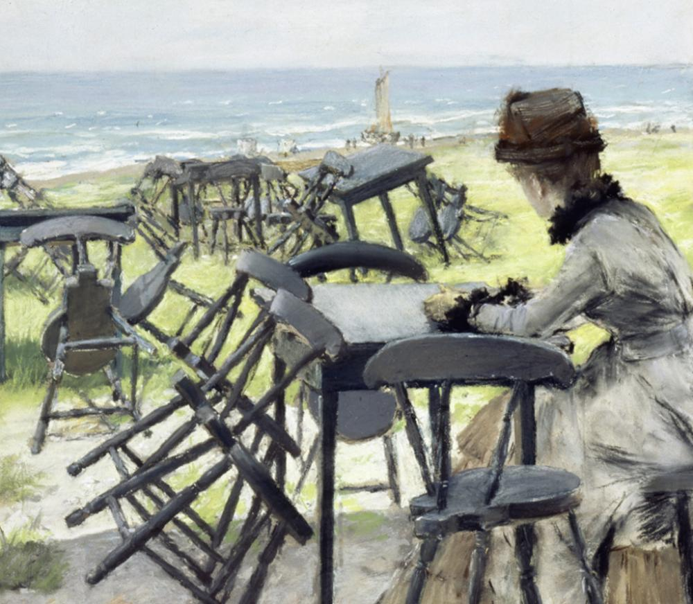 William Merritt Chase, The End of the Season (detail)