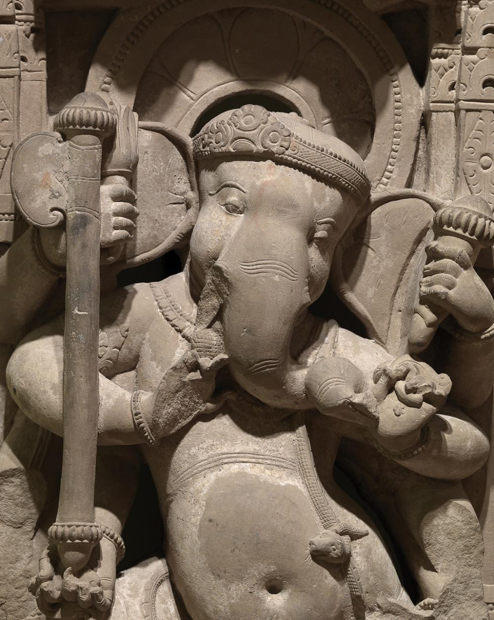 Maker Unknown (Indian), Dancing Ganesha, 800-900 CE