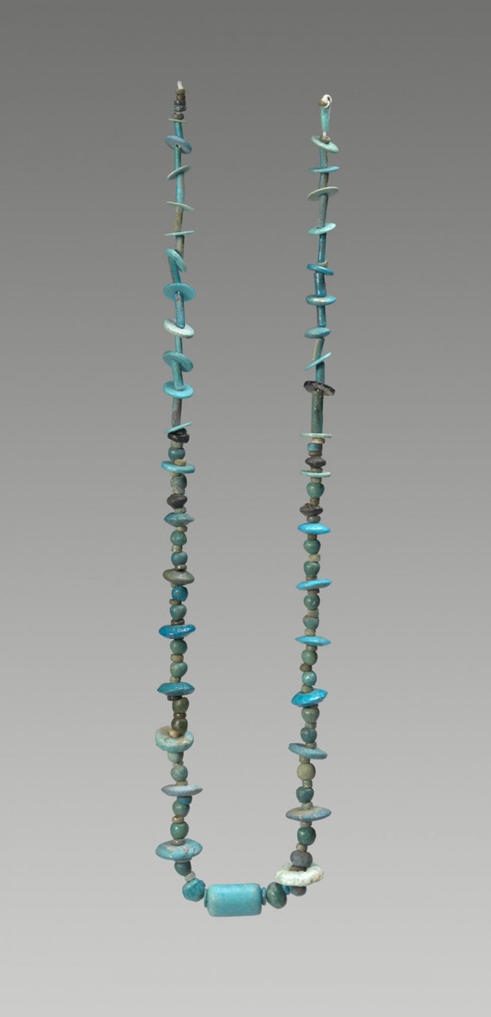 Egyptian, beaded necklace
