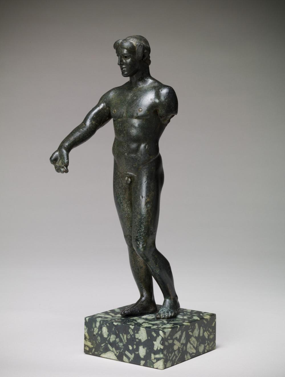 Greek, Statuette of a youth, probably Apollo