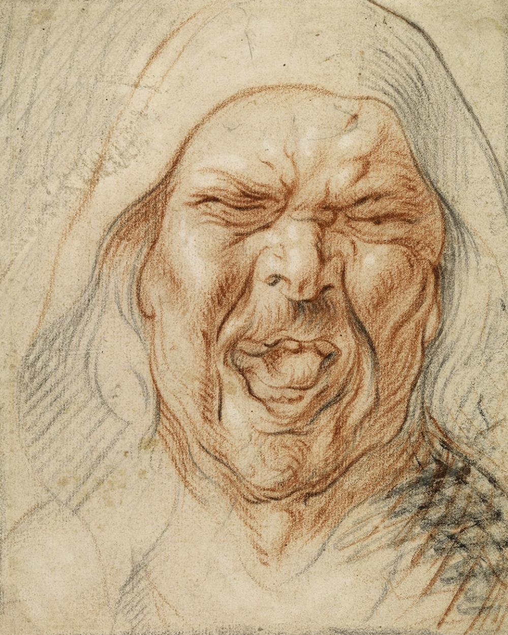 "Jordaens, Jacbob, Study for the Cook in ""The King Drinks"""