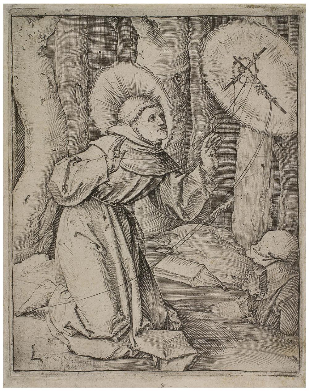 Leyden, Lucas van, St. Francis Receiving the Stigmata