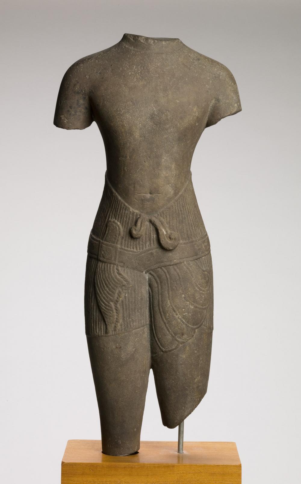 Cambodian, male torso