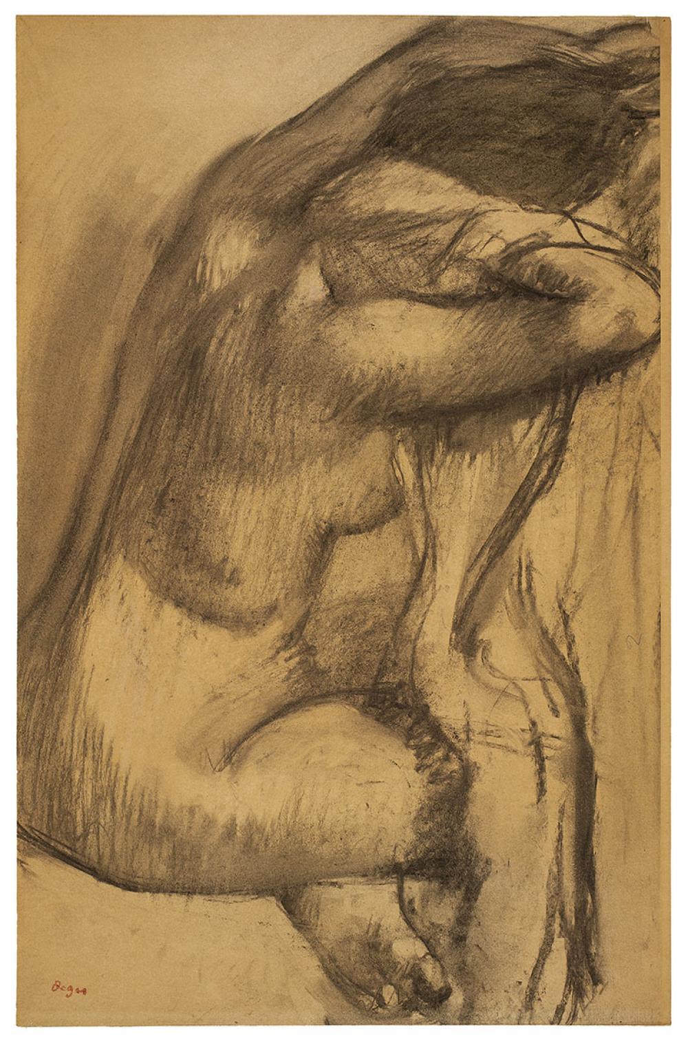 Edgar Degas, Après le bain [After the Bath]