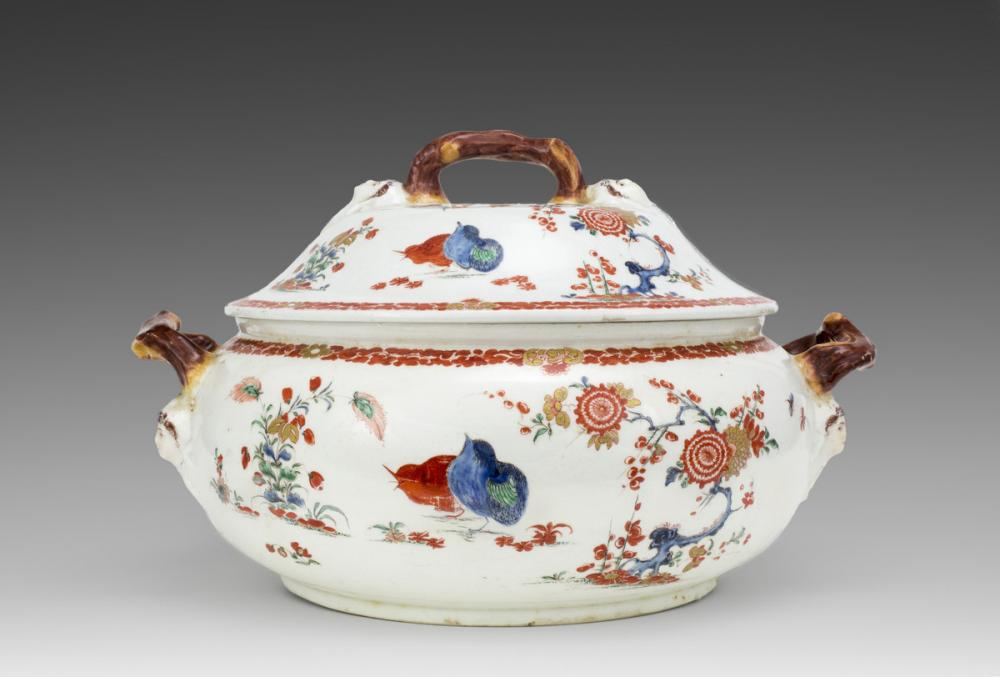 Bow Porcelain Factory, Tureen and lid