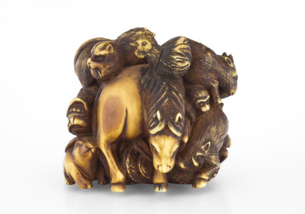 Mitsu saku and Kakihan, The twelve animals of the zodiac