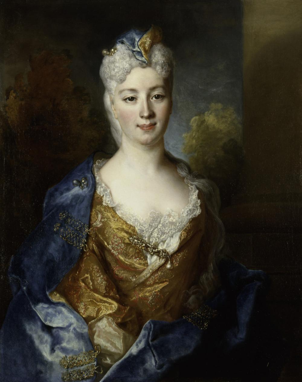 Nicolas de Largillière (French, 1656-1746), Marie Elisabeth Desiree de Chantemerle, Comtesse de Hergh, 1715