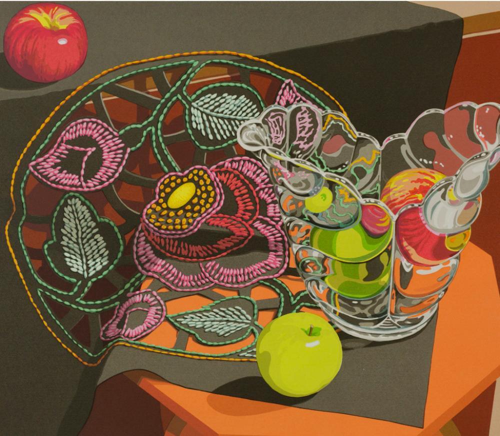 Sondra Freckelton (American, 1936-2019), Openwork (detail), 1986
