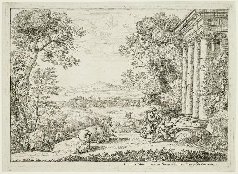 Lorrain, Claude, Mercury and Argus