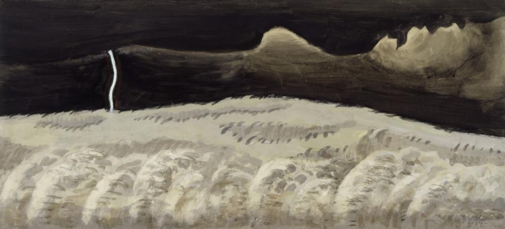 Burchfield, Charles Ephraim, Gray and Black Landscape