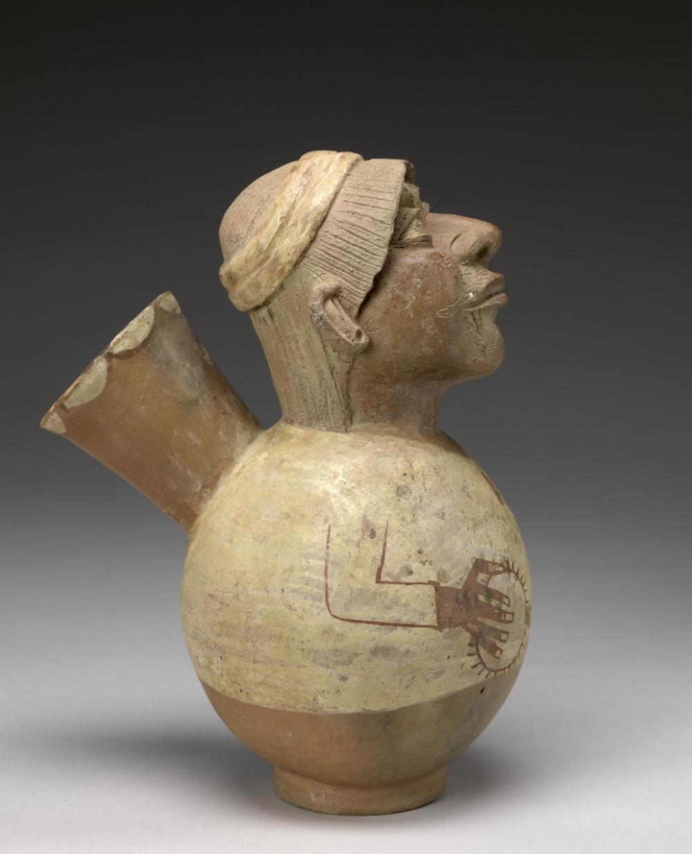 Moche, Figural vessel