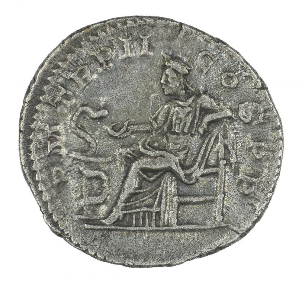 Roman, Denarius of Alexander Severus, rev.