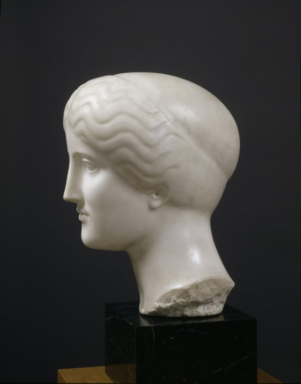 Nadelman, Elie, Ideal Head of a Woman