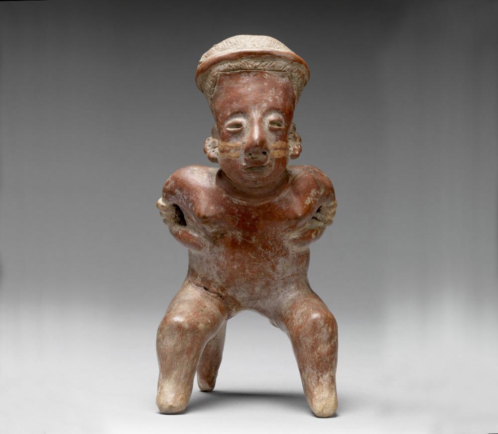 Maker Unknown (Nayarit), Female figure, 250 BCE-250 CE