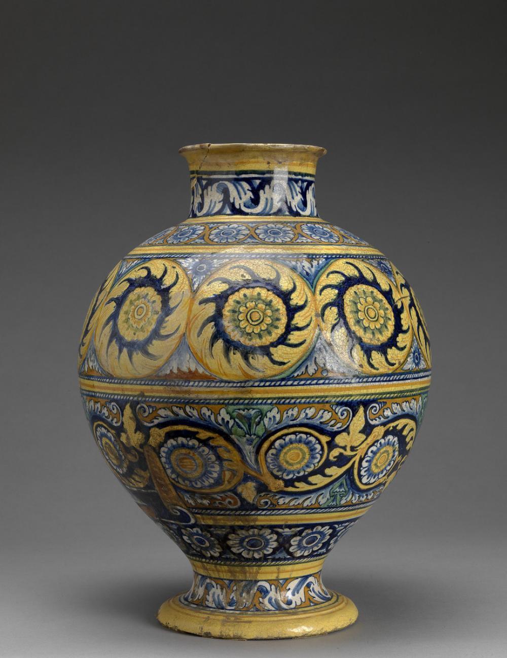 Italian, Globular jar