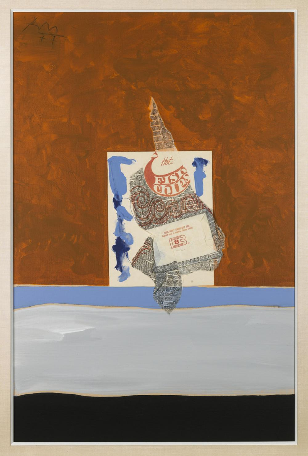 Robert Motherwell, Beside the Sea with Fish and Chips