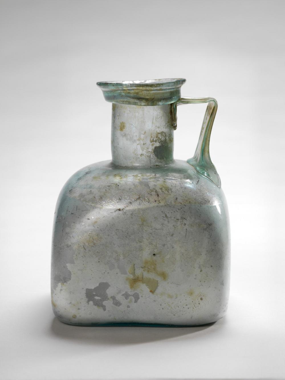 Roman, Square mold-blown bottle