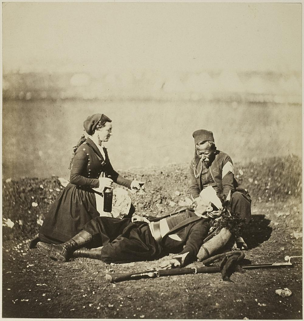 Fenton, Roger, Wounded Zouave
