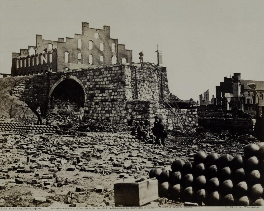 Gardner, Alexander, Incidents of the War, Ruins of Arsenal, Richmond, VA.