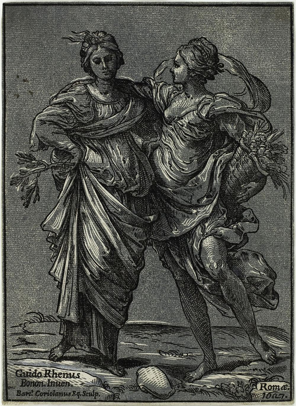Coriolano, Bartolomeo; Allegory of Peace and Abundance