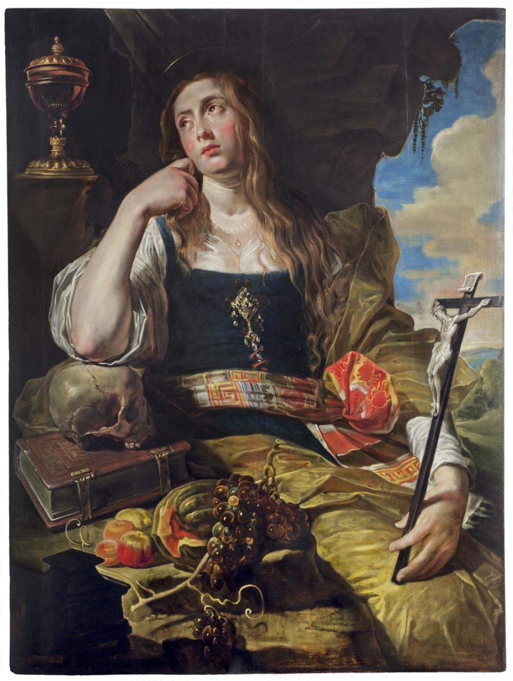 Abraham Janssens (Flemish, ca. 1575-1632), The Penitent Magdalene, ca. 1620