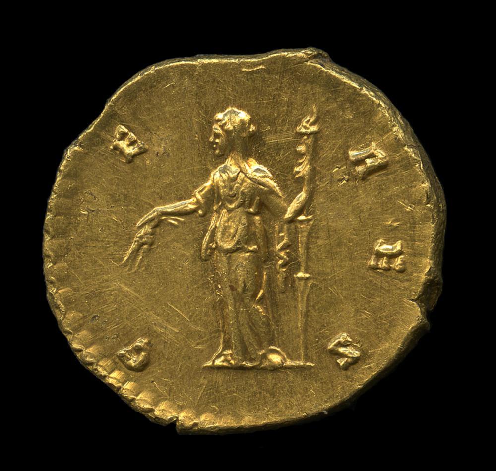 Antoninus Pius (minted under), Aureus of Faustina the Elder, rev.