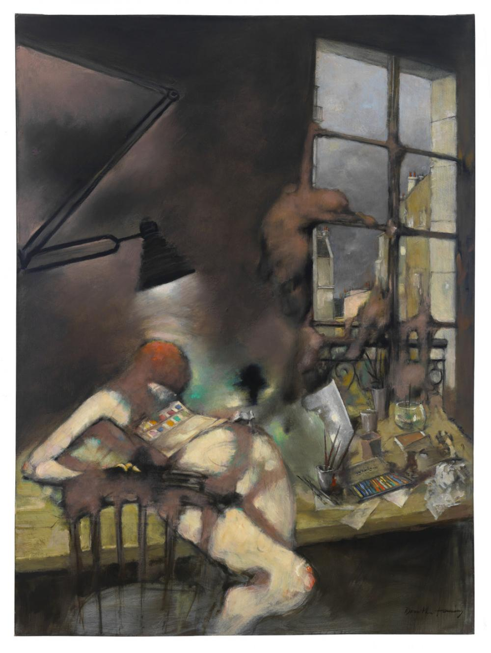 Tanning, Dorothea, Still in the Studio