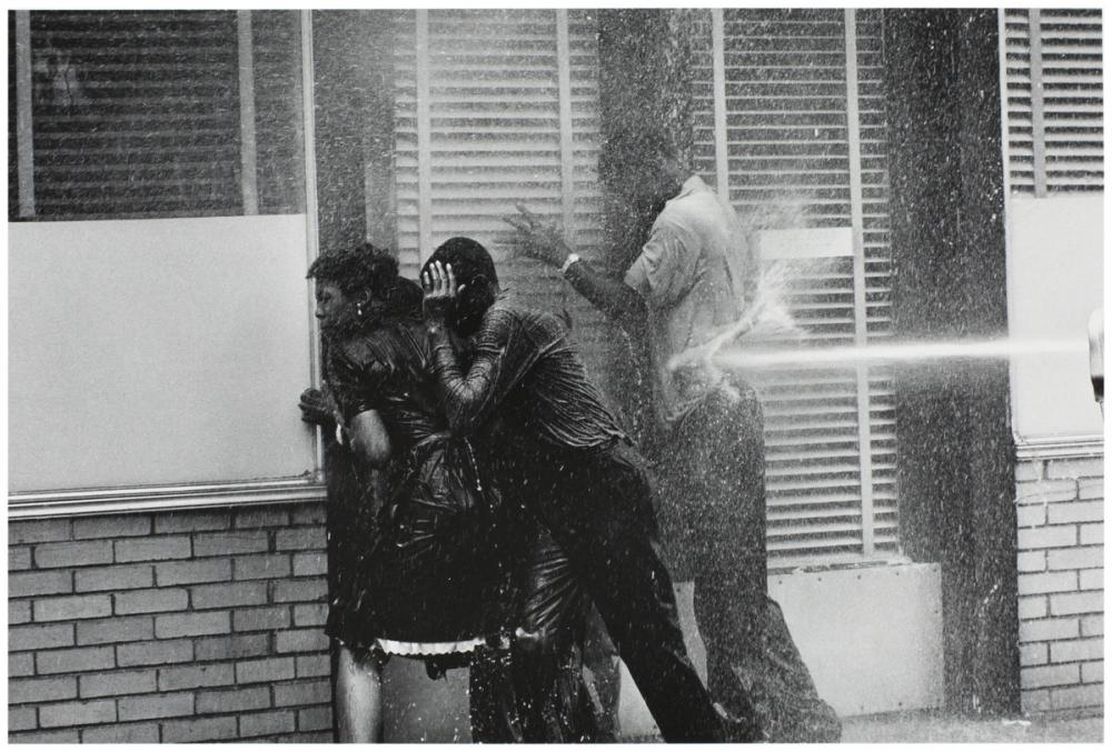 Charles Moore, Pictures That Made a Difference: The Civil Rights Movement, 1958-1956 negative; 1989 print