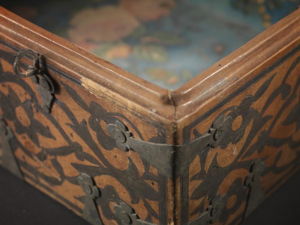 American, Fidelia Fiske's document box
