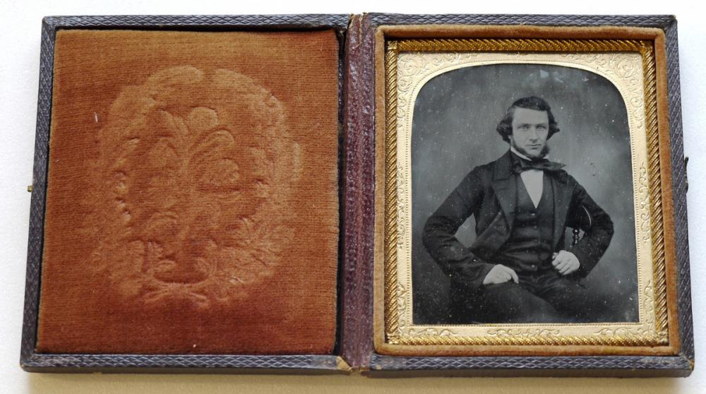 American, [portrait of seated man]