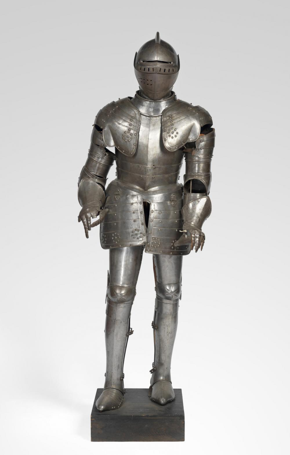 Italian; German; Austrian, Suit of armor