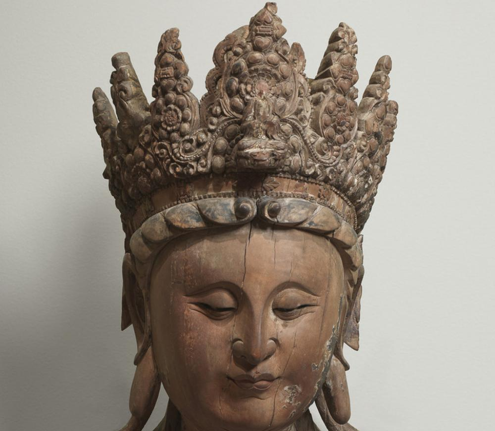 Maker Unknown (Chinese), Guanyin (detail)