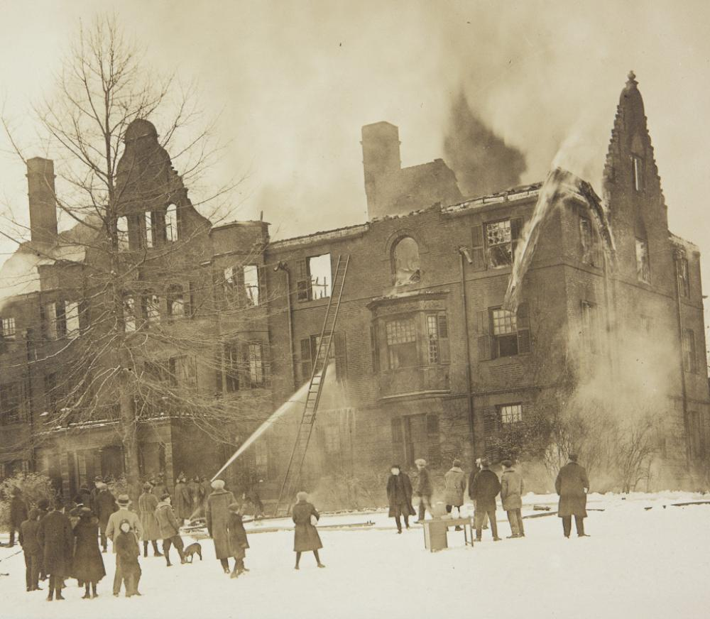 Rockefeller Hall, Unknown, 1922, Mount Holyoke College Archives and Special Collections