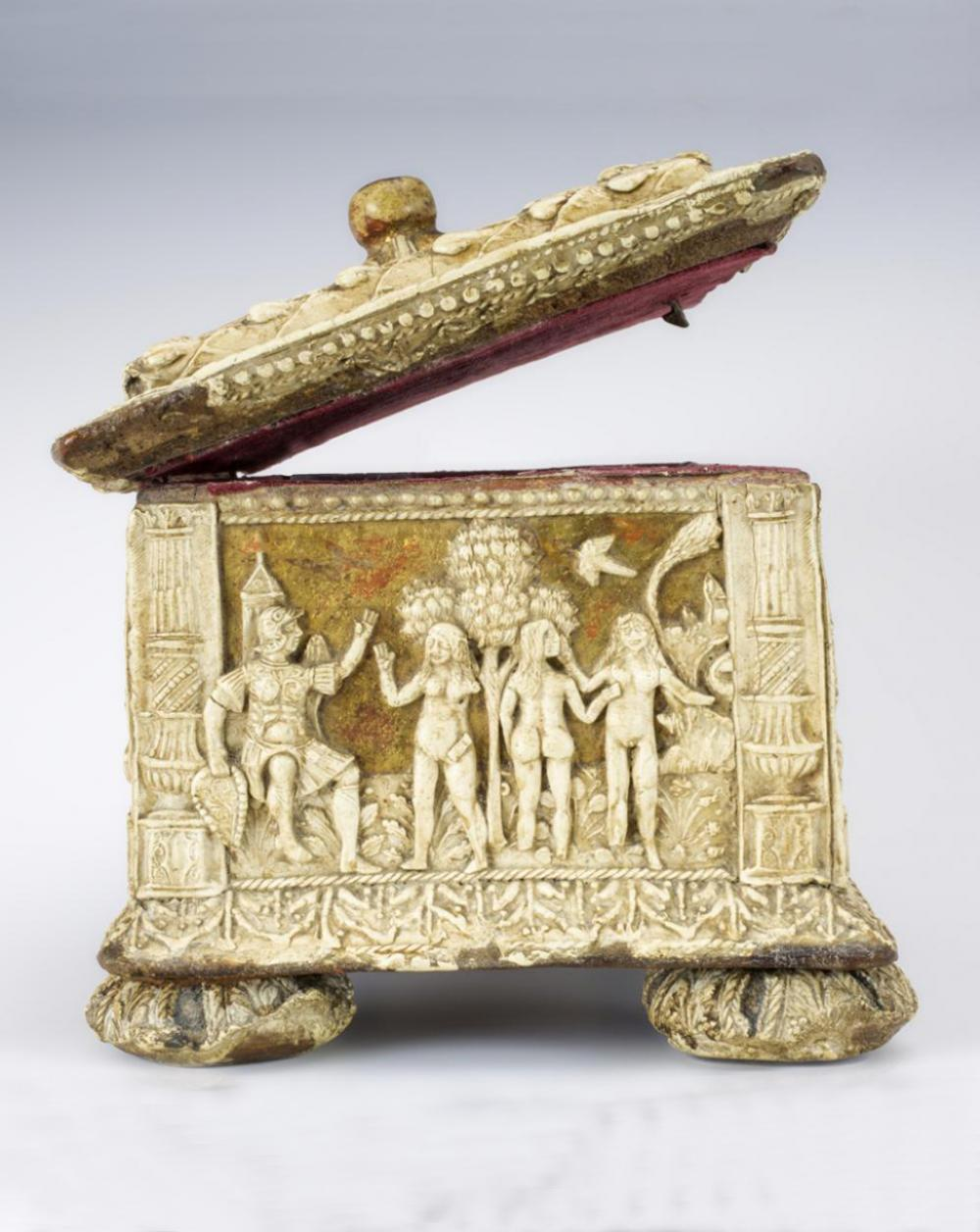Maker Unknown (Italian), Pastiglia casket, ca. 1530