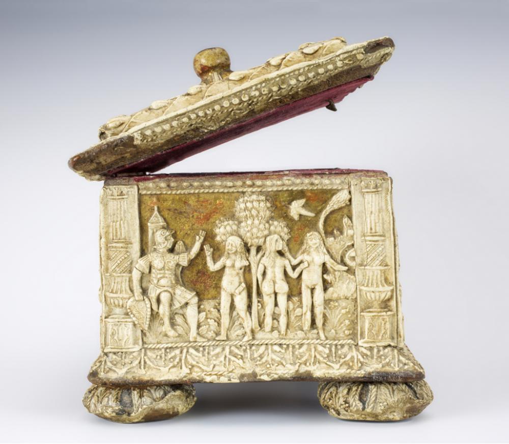 Maker Unknown (Italian), Pastiglia casket, ca. 1530