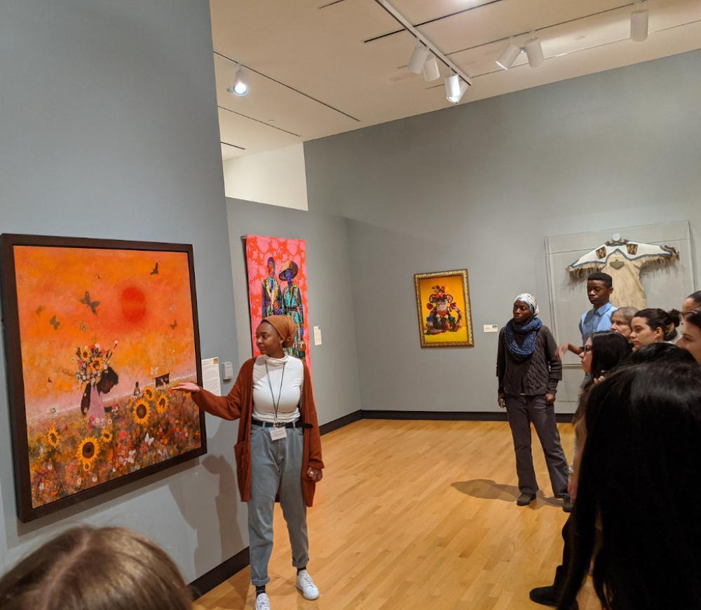"""Seeking Freedom Through Art"" Sightlines Tour, February 15 2020"