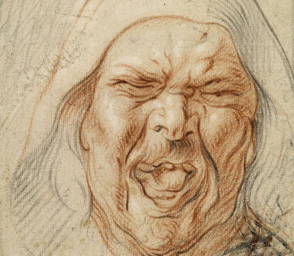 "Jacob Jordaens, Study for the Cook in ""The King Drinks,"" ca. 1640-1645"