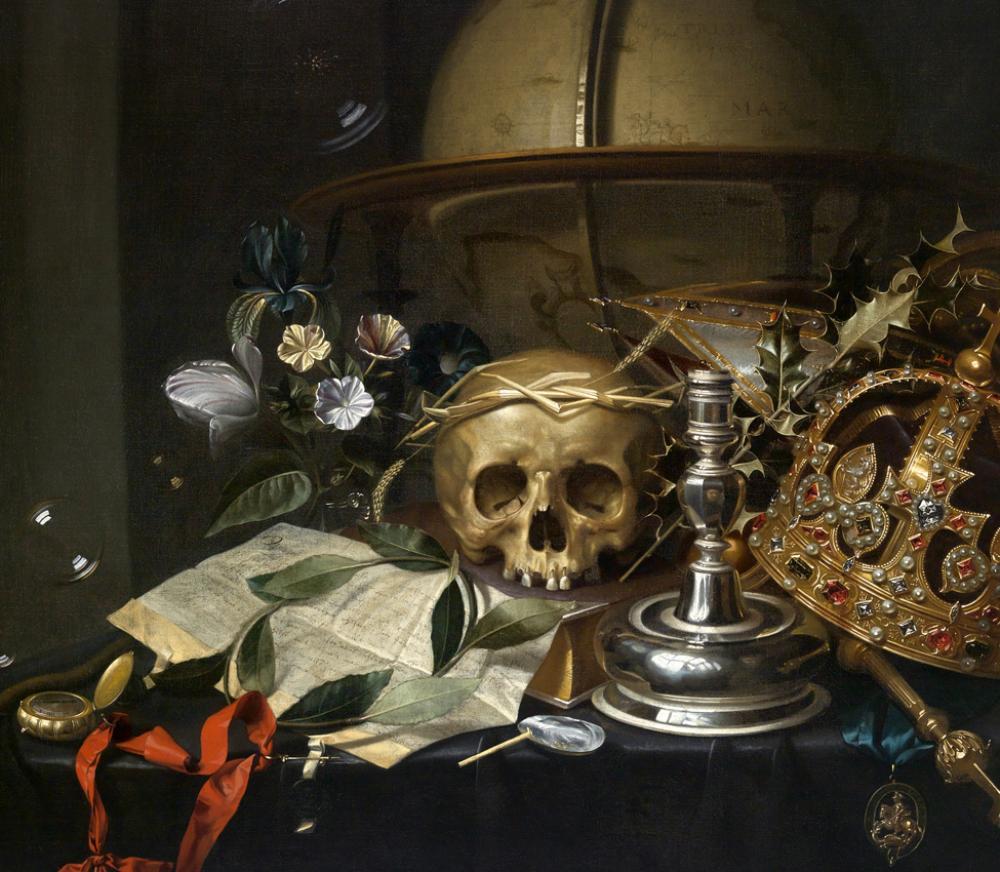 Hendrick Andreissen, Vanitas still-life