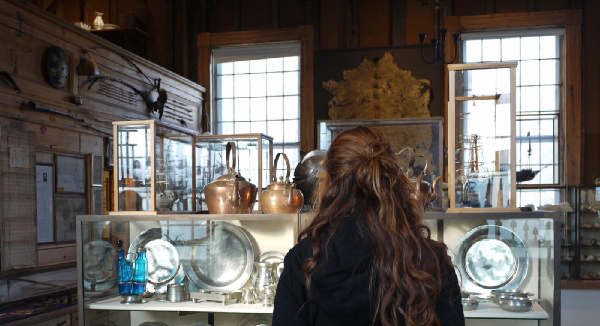 Teacher workshops at the Joseph Allen Skinner Museum