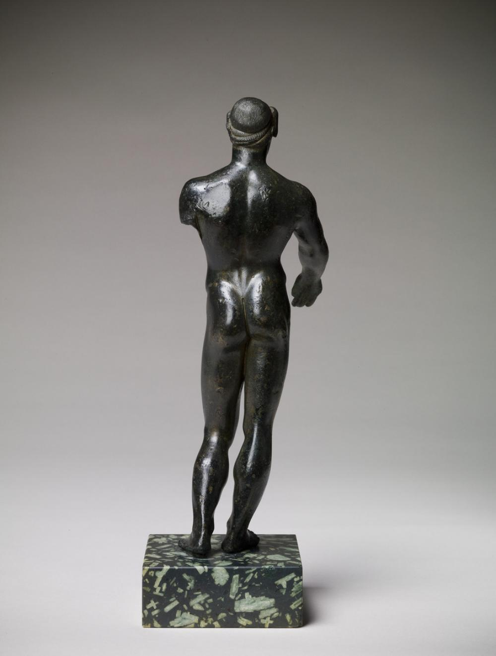 Maker Unknown (Greek), Statuette of a youth (probably Apollo), ca. 470 BCE