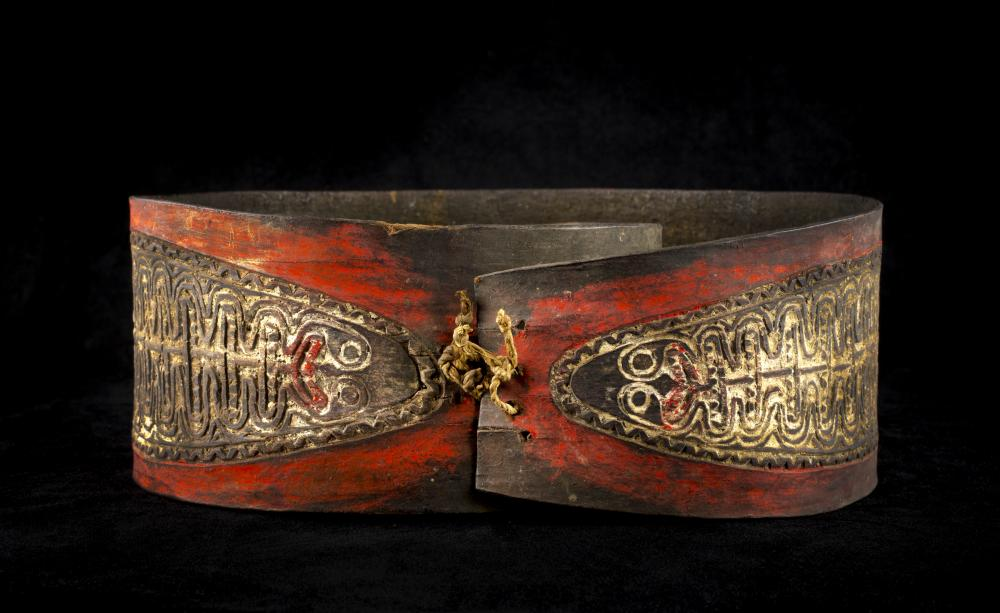 Bark belt, 20th c., New Guinea, Melanesian